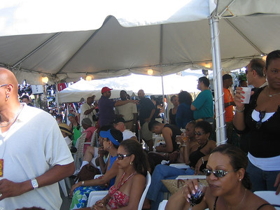 Tent hosted by Barbados Tourism Authority