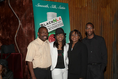 Calhoun Family: Isaac Calhoun, Cherice Calhoun, Relda Calhoun and Brian Calhoun