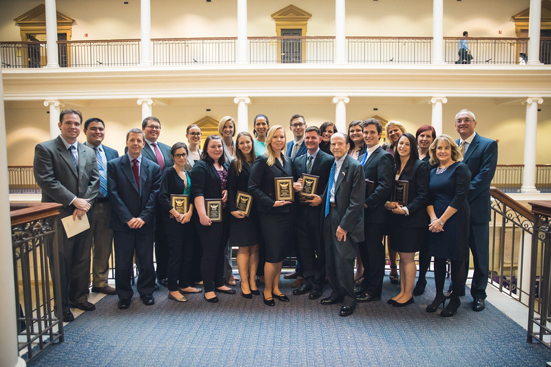 Regent University School of Law faculty and students.