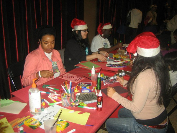 Santa's Helpers hard at work