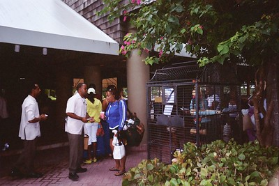 We were greeted on the Islands with smiles and rum punch as well as waiting vehicles to take you to your room