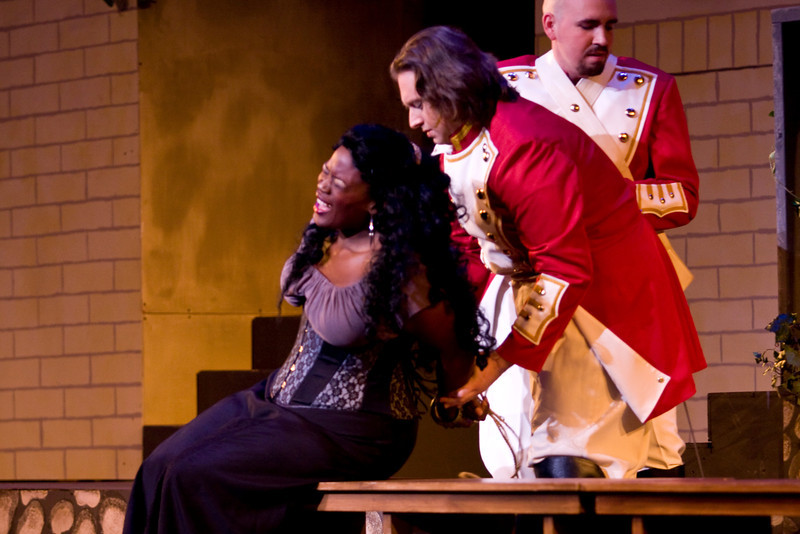 The University of Nevada at Las Vegas Opera Theater's production of Carmen, directed by Linda Lister.  March 16-18, 2012. Red Cast Featuring Latoya Lain, Dominic Chenes, Martha Banks, Daniel Hunter Jr., and Victor Romero