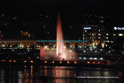 "The Fountain at Point State Park in Pittsburgh, PA.  Taken during the ""Pittsburgh 250"" celebration on October 4, 2008."