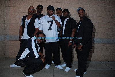 """Naturally 7"" singing group, at their performance in Bridgeport, WV, sponsored by the Bridgeport Arts Council"