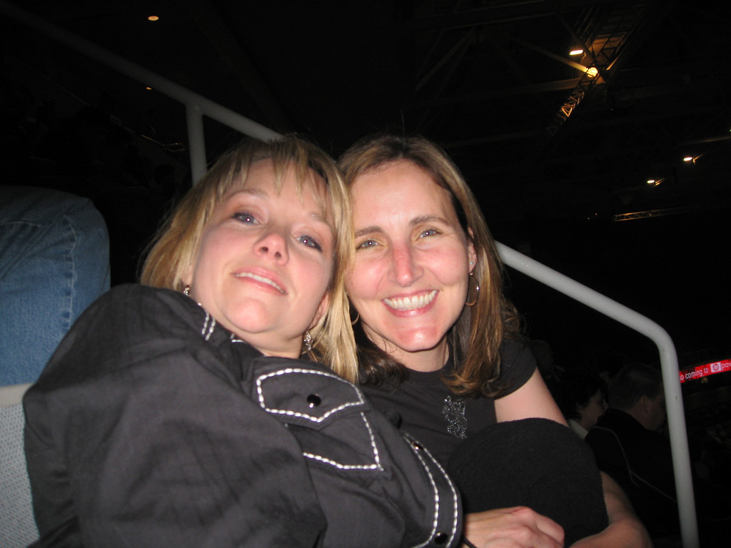 Me and Mary at the Bon Jovi Concert