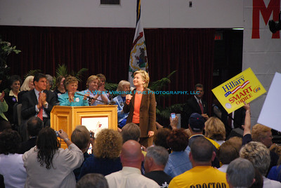 Primary Election Eve Rally in Fairmont, WV, with Sen. Hillary Clinton