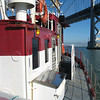 And we're off!<br /> Phoenix under SF/Oakland Bay Bridge