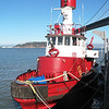 Guardian:<br /> <br /> Guardian has 5 pumps which can deliver up to 26,000 gallons of water per minute, significantly more than Phoenix, making it the most powerful fireboat in the world in terms of pumping capacity
