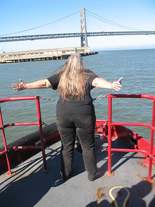 Tracy doing her best Kate Winslet