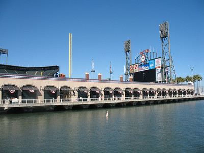 McCovey Cove - World Series Champion's Home Field, AT&T Park.