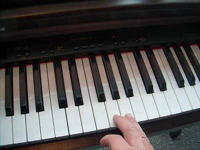 """""""TRYING"""" to play Happy B-day"""