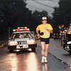 John Loertscher (# 1 Dad) during the 1986 Torch Run.