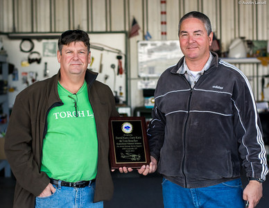 Tom Boucher and Gary Katz KVA NOAA Award for Aerial Damage Survey Support in March 2012