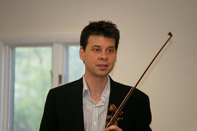 2012 Héctor Falcón from NJSO at Lakeland Strings Rehearsal
