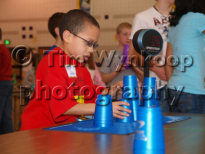 2008 Speed Stacking Tournament at Palisades Middle School. All photos by Tim Wynkoop
