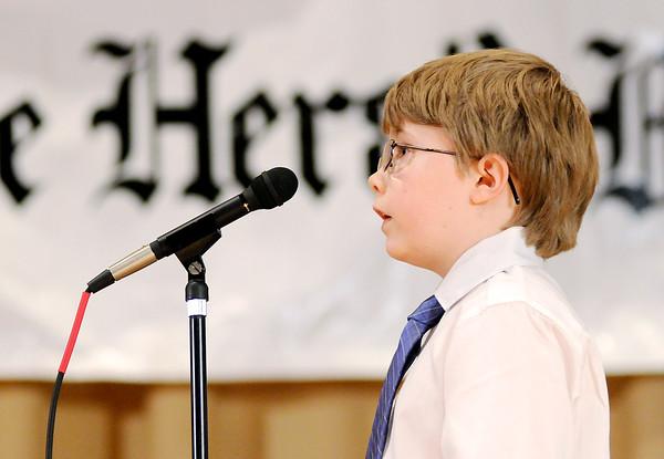 Don Knight | The Herald Bulletin<br /> Ethan Wideman