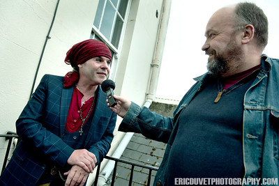 Spike Interview Great Music Stories at The Prince Albert, Brighton.
