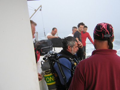 Sponsored Dive on the RV Garloo