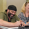 Lee Arenburg (left) at Spooky Empire's May-Hem - 31st May 2014 (Photographer: Nigel Worrall)