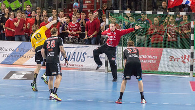 17.10.2015 - Nürnberg, Aren: HC Erlangen -  HSC 2000 Coburg, Ergebnis 31:24