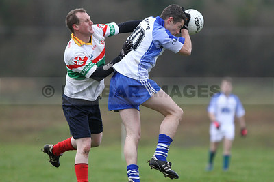 Kilbride v Kiltegan in the West Wicklow Winter League at Lacken