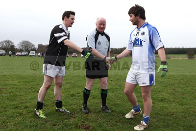 Kilbride v Lacken in the West Wicklow Winter League at Lacken