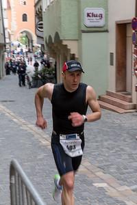 Top runner in the historic center of Regensburg.