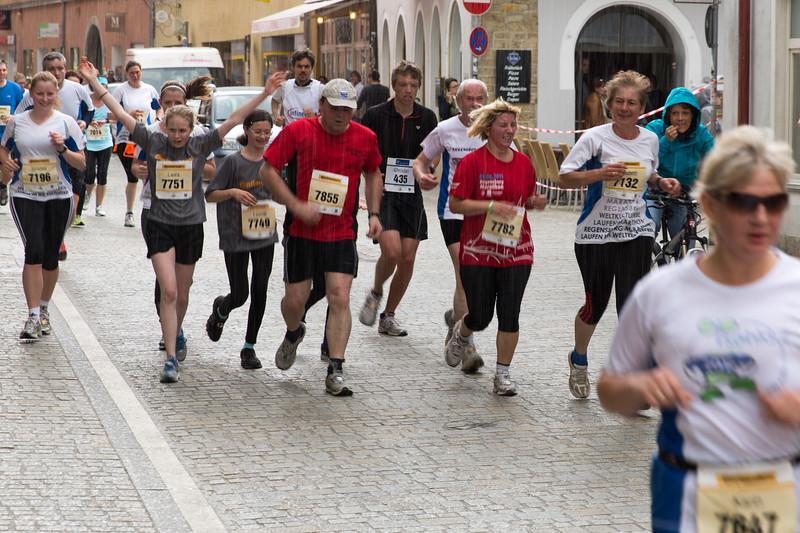 Regensburg Marathon 2013