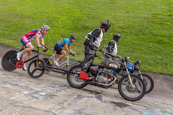 Motor-paced cycling - Steherrennen