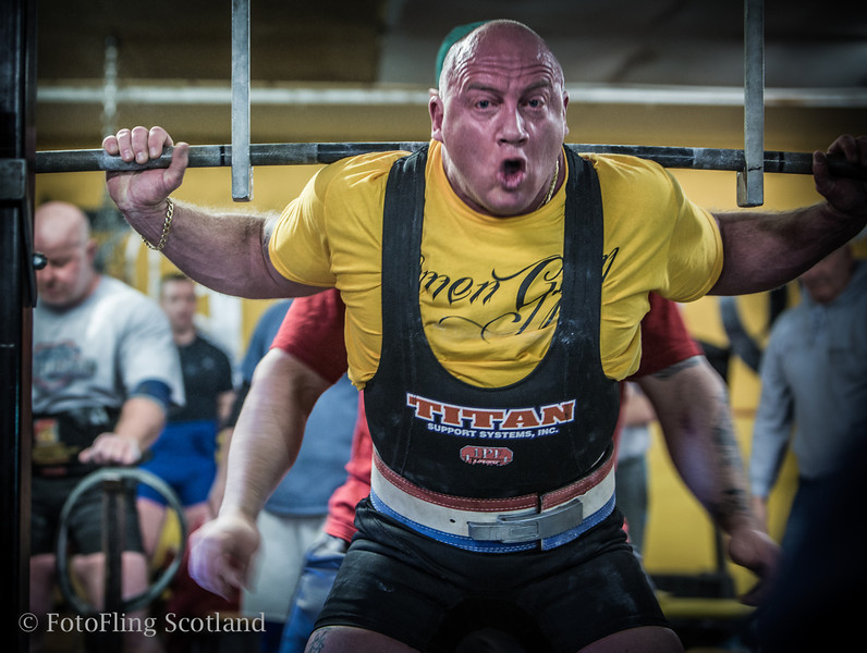Scottish Open Powerlifting Championships, 2013