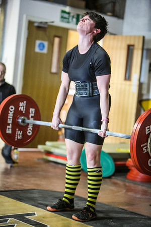 Lady Powerlifter