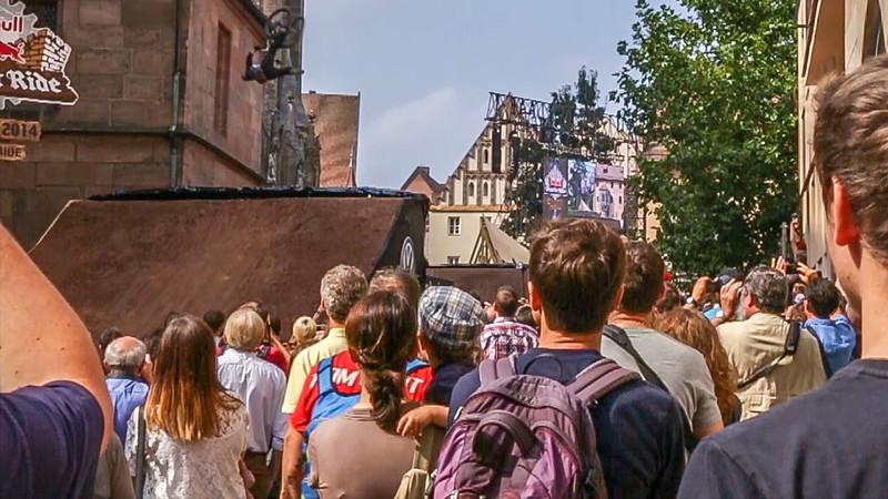 Red Bull District Ride, Nürnberg 6.9.2014