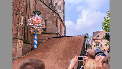Red Bull District Ride, Nürnberg 6.9.2014