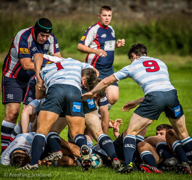 Edinburgh Accies II v Selkirk  2012