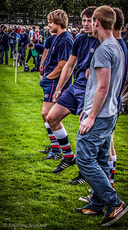 Surreptitious Grope Edinburgh Accies 2nd XV  v Selkirk