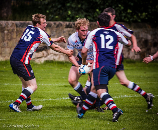 Tackle  Edinburgh Acies II v Selkirk 2012