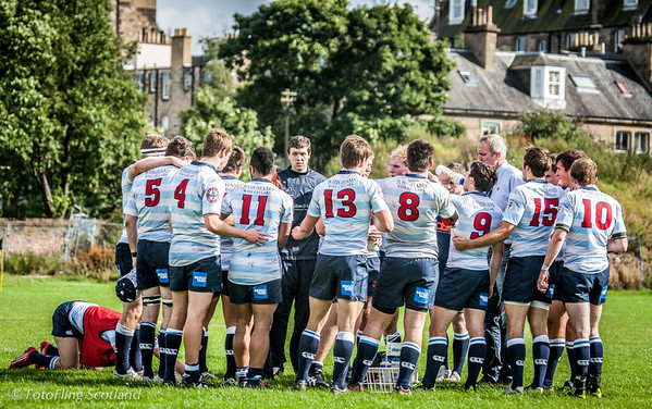 Team Instruction and praying towards Mecca Edinburgh Acies II v Selkirk 2012