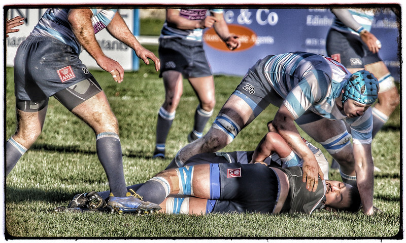 Rugby in Edinburgh