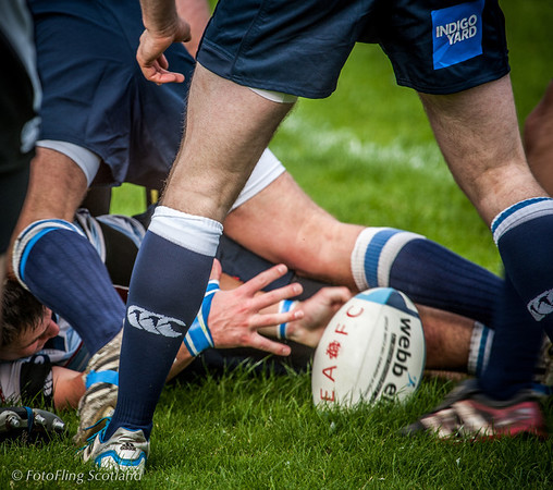 Six Inches Short Edinburgh Accies v Melrose 2012