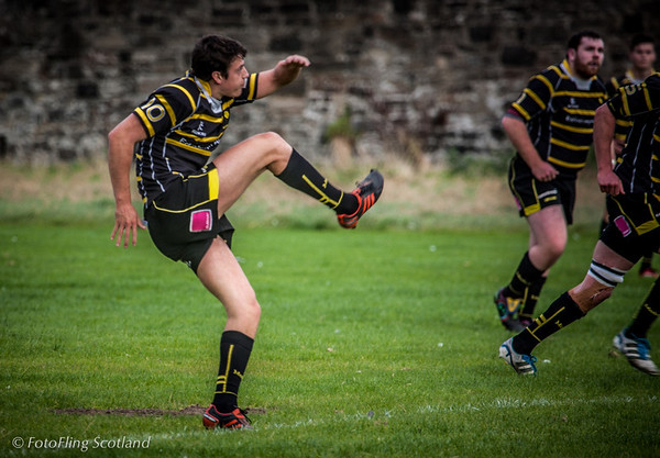 Kick ! Edinburgh Accies v Melrose 2012