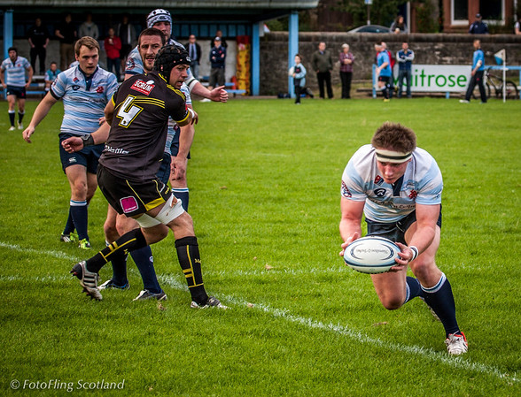 Edinburgh Accies v Melrose  2012