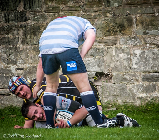 It's Mine ! Edinburgh Accies v Melrose 2012