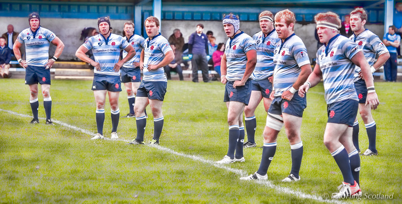 Edinburgh Accies v  Melrose