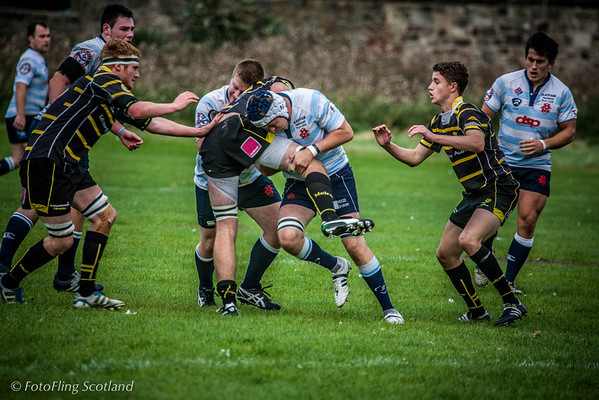 Edinburgh Accies II v Melrose II  2012