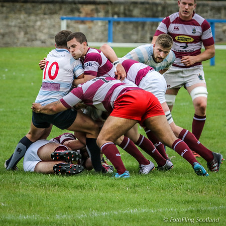 Edinburgh Accies v Watsonians