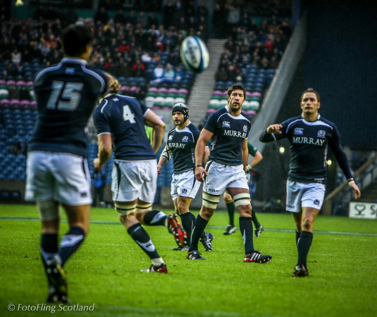 Scotland v South Africa - Autumn Test Series, Murrayfield, Edinburgh
