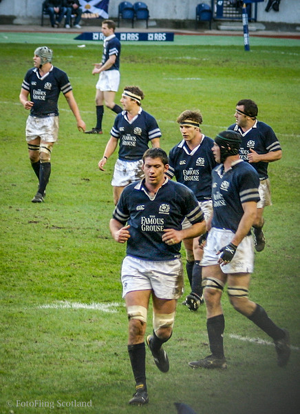 SCOTLAND V IRELAND  SIX NATIONS  MURRAYFIELD  2005
