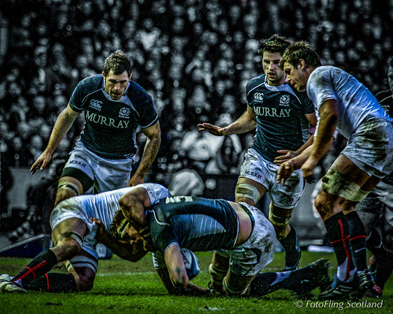 Six Nations Rugby: Scotland v England 2010