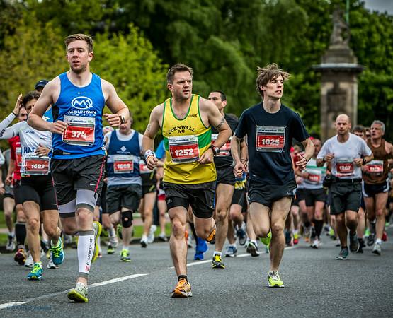 The 2013 Edinburgh Marathon
