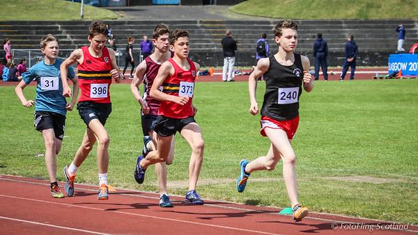 The 2016 Edinburgh Secondary Schools Athletics Championships